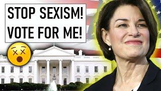 when feminists run for president...