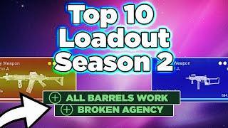 Top 10 Season 2 Loadouts Broken Agency & All Barrels Work, Warzone tips by P4wnyhof
