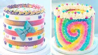 Top 10 Beautiful Buttercream Cake Decorating Ideas | Best Cake Decorating Tutorials | Extreme Cake