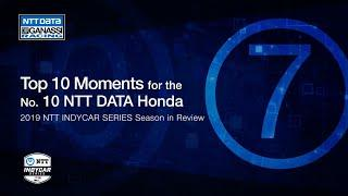 2019 Season in Review: Top 7 Moment for the No. 10 NTT DATA Honda
