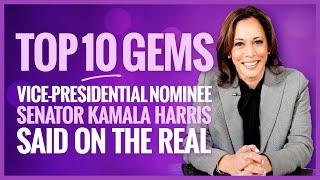 The Top 10 Gems from VP Nominee Senator Kamala Harris' Visits to The Real