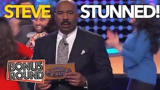 FAMILY FEUD EPIC COMEBACKS! Steve Harvey STUNNED By These Families! Family Feud