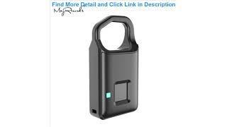 Top P4 Smart Fingerprint Door Lock Safe USB Charging Waterproof Anti Theft Lock Home Security