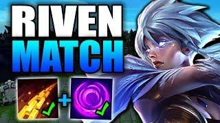 RIVEN'S MOST ANNOYING MATCHUP OF ALL TIME! (Here's how to Win!) - Riven TOP Guide Season 10