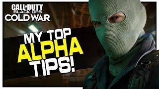 My Top Cold War Alpha Tips! (How to get the Most out of the Alpha)