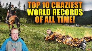 Reacting To Top 10 Craziest World Records of All Time