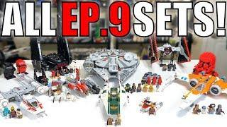 ALL LEGO Star Wars Episode 9 The Rise of Skywalker Sets!