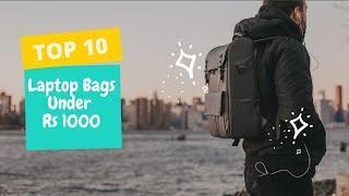 ✅Top 10 Best Laptop Bag Under Rs. 1000| Tech Backpacks Or School -Collage Backpack  | 2020