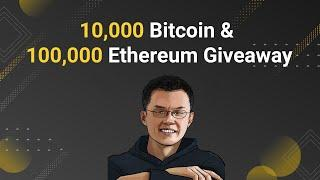 CZ Binance - Bitcoin Halving and Ethereum 2.0 Release Competition for all the fans