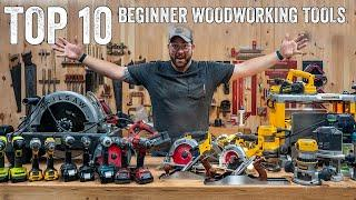 10 Tools For Beginner Woodworkers