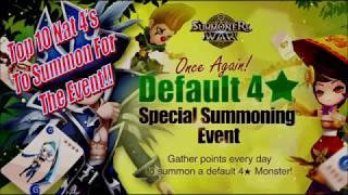 [SUMMONERS WAR] Top 10 Nat 4's For The Summoning Event