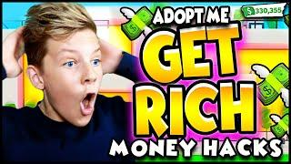 TOP 10 Adopt Me MONEY HACKS!! Become a MILLIONAIRE in Roblox Adopt Me!! Plus FREE ROBUX!! PREZLEY