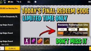Free Fire Redeem Code Today 1 May | Free Fire Redeem Code Today | Redeem Code Free Fire Today