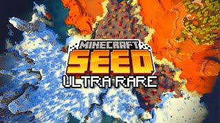 ULTRA RARE BIOMES SEED! (Minecraft Bedrock Edition 1.16 Seed)