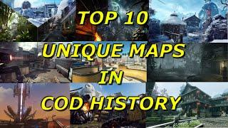 Top 10 Most Unique Maps in Call of Duty History Part 1! - Call of Duty History - Multi COD Gameplay