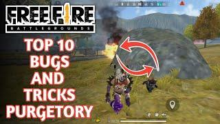 Top 10 Secret Hiding Place in Free fire 2020 || Top 10 Secret Locations - Garena Free fire