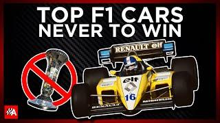 The Top F1 Cars Never To Win A Grand Prix