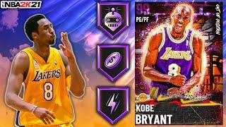 POINT GUARD DARK MATTER KOBE BRYANT GAMEPLAY! THE BEST POINT GUARD IN NBA 2K21 MyTEAM?