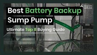 Best Battery Backup Sump Pump System