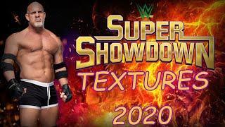WR3D Super Showdown 2020 Textures-With Link
