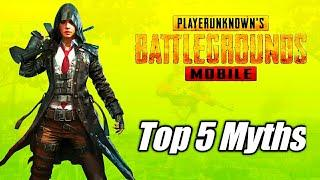 Top 5 Mythbuster in Pubg Mobile | Top 10 Myths in Pubg Mobile | सही/गलत