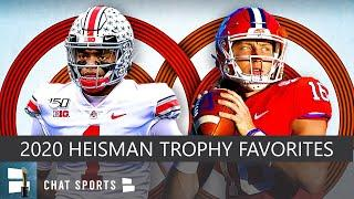 2020 Heisman Trophy Way-Too-Early Top 10 Candidates Led By Trevor Lawrence & Justin Fields
