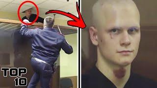 Top 10 Insane Convicts Who Tried To Escape A Courtroom