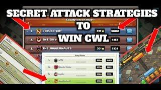GLOBAL TOP 4 CWL CLAN ATTACKS ♥️ CLASH OF CLANS