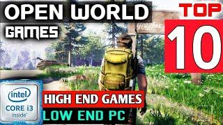 {Core i3} Top 10 High End Games Games For Intel i3 Without Graphics Card 4/6 GB Ram |  low end Pc