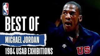 Best Of Michael Jordan 1984 USAB Exhibitions   The Jordan Vault