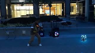 "Tyler Butler-Figueroa, Violinist street performing ""Girls Like You""- Maroon 5 - before AGT"