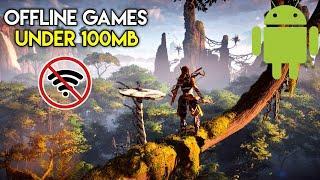 TOP 10 OFFLINE TIME KILLER GAMES UNDER 100 MB// ADVENTURE // ACTION