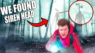 Exploring A HAUNTED Forest! SIREN HEAD Found (3AM Challenge)