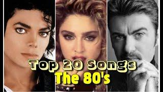 Top 20 Worldwide Hits Of Each Year (1980 - 1989)
