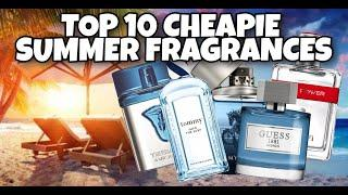 Top 10 Cheap Summer Fragrances 2020   Cheap Fragrances that Smell AMAZING   Smell Great For Less
