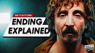 THE PLATFORM Ending Explained Breakdown + Full Movie Spoiler Talk Review   NETFLIX