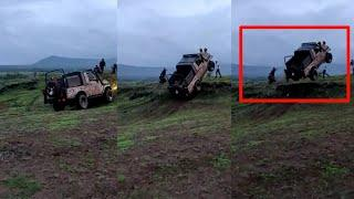 Top 10: Power Of GYPSY   Army Car Never Off Duty   Towing Truck, Off-road Capabilities ! ! !