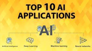 Top 10 Applications of Artificial Intelligence | Artificial Intelligence Applications in 2020
