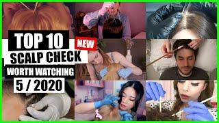 ASMR / SCALP CHECK (Doctor, Lice Check And Treatment, Glove Sounds) / TOP 10 / 5/2020 / ASMR Charts
