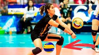 Top 10 BALL BETWEEN THE LEGS in Women's Volleyball 2017 | Best Volleyball Actions