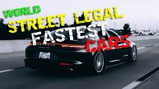 Top 10 Fastest Cars | Street Legal, Top Speed, Modern, Fast & Furious Cars in the world #1