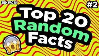 20 चौंकाने वाले Random Facts [Part 2] | 20 Random Facts That Will Blow Your Mind [Part 2]