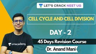 One Shot Revision Crash Course | Cell Cycle and Cell Division | NEET 2020 | Day 2