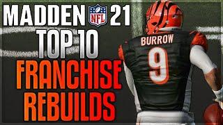 Madden 21 -- Top 10 Teams To Rebuild In Franchise Mode