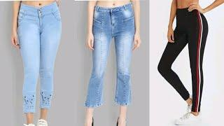 latest stylish jeans design for girls 2020| jeans top design | fancy jeans | trendy jeans top design