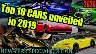 TOP 10 CARS of 2019...! NEW YEAR SPECIAL EDITION...(Must watch)