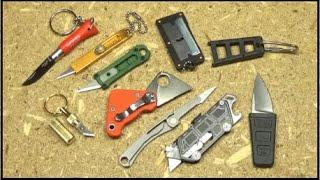 Top 10+ Keychain Cutters I Tried This Year (Micro/Mini Utility Knives) $20 and Below