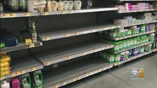 Coronavirus Update: Shoppers Begin Hoarding Products Like Bottled Water, Hand Sanitizer