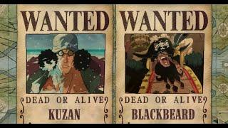 TOP 10 Characters Who Have Higher Bounties Than Luffy