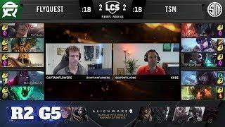FlyQuest vs TSM - Game 5 | Round 2 PlayOffs S10 LCS Spring 2020 | FLY vs TSM G5